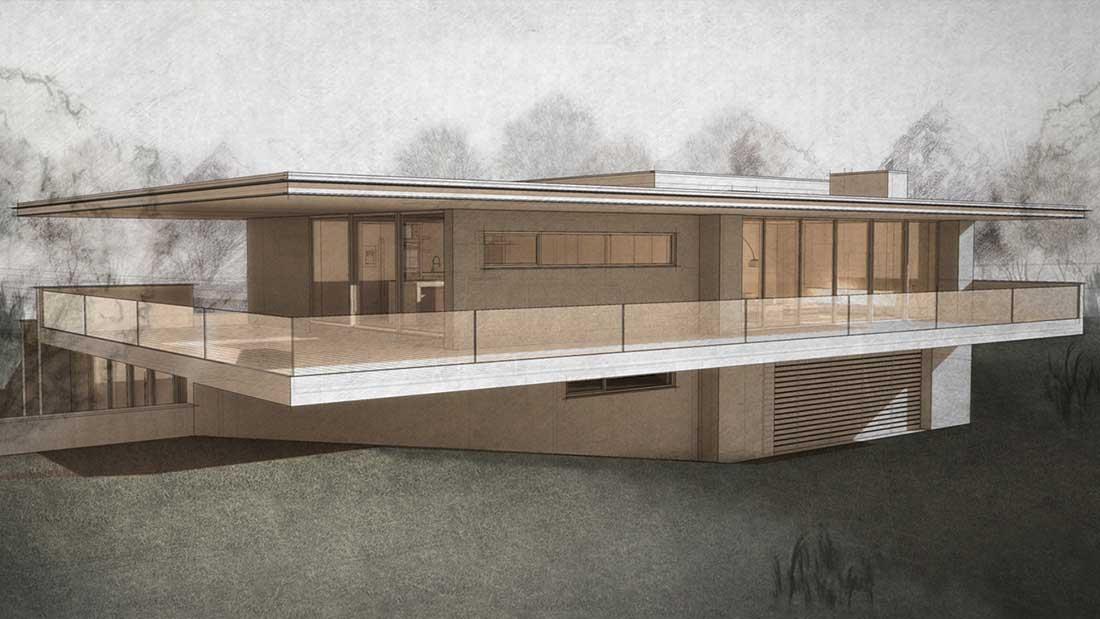 Villa aan de maas tim knubben architectural designer for Interieur architectuur